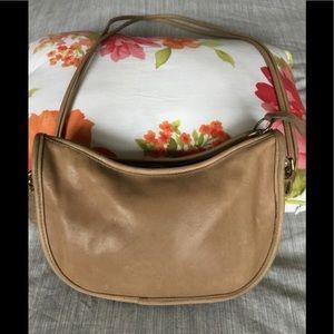 Coach vintage tan bag.